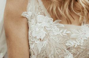 Brautkleid Vintage-Stil